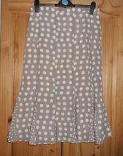 Calf Length Polyester Business Flippy, Full Skirts for Women