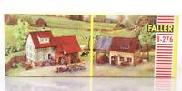 RARE UNUSED VINTAGE FALLER B-276 HO KIT - FARMHOUSE &  OUTBUILDINGS  SET