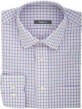 Ex Store Check Long Sleeved Single Cuff Shirt