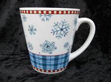 ~ Sakura Snowflake Coffee Cup/ Mug by Debbie Mumm Winter Christmas ~ Cute!