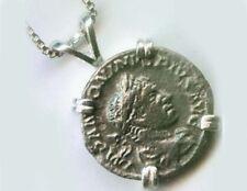 Silver Roman Denarius Emperor Elagabalus Goddess Liberalitas (Generosity) AD220