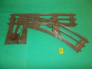 LIONEL STANDARD GAUGE RIGHT HAND SWITCH (Point) Ives Lionel American Flyer 'C'