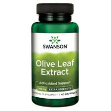 Swanson Superior Herbs Olive Leaf Extract Super Strength 750mg 60 Capsules