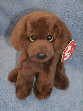 """Ty Beanie Baby 6"""" ~ COCOA the Brown Dog ~ MINT with MINT TAGS ~ RETIRED"""