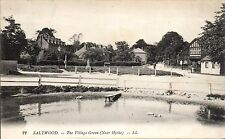 More details for saltwood. the village green (near hythe) # 22 by ll / levy. black & white.