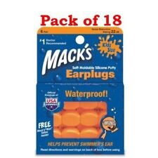 Mack's Earplugs, Kids Size (Pair), 6-Count Boxes (Pack of 18)