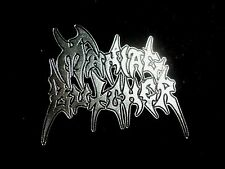 MANIAC BUTCHER BLACK METAL PIN BADGE ,MARDUK,SATYRICON,GORGOROTH,DARK FUNERAL