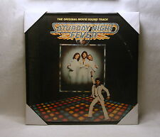 SATURDAY NIGHT FEVER Framed Album Cover / Jacket  Movie Soundtrack 12x12 Disco