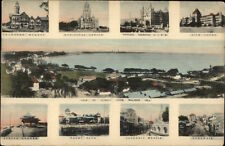 Bombay India Multi-View c1910 Postcard