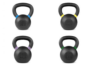 CAST IRON KETTLEBELL  -  12KG, 16KG, 20KG, 24KG  -  FREE NEXT DAY DELIVERY