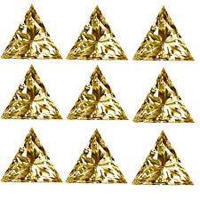 Triangle Loose Moissanite Diamond-Ring 4.60ct Vvs1-5pc(0.80-1.00ct)Gold en Yellow
