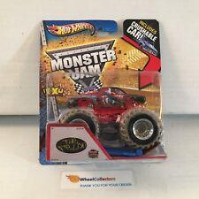 #1  The Felon * Hot Wheels Monster Jam w/ Crushable Car * K1