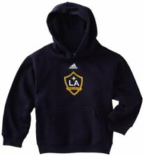 Adidas MLS Soccer Toddler Los Angeles Galaxy Hoodie Hooded Sweatshirt, Navy