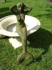 sirène en fonte pat vert et rouille , model moyen , nouveau !