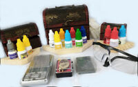 Gold testing kit, 14 Quicktest, testers,Gold Test kit, Stone,Testing for carats