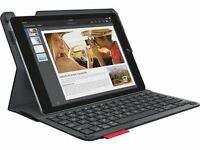 Logitech Type+ Ultrathin Keyboard Folio Smooth Case iPad Air 2 Black 920-006912