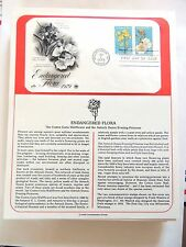 "June 7th, 1979 ""Endangered Flora"" 1st Day Cover"