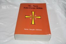 The New American Bible Saint Joseph Edition 1992 Softcover