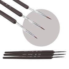 3 X Tiny Acrylic Nail Art Brush Decoration Pen Painting Drawing Tool Fashion.