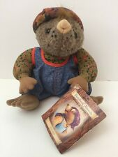 "Vintage Hallmark Collectible Myra Mole 8"" Plush Animal - Presented by Crayola"