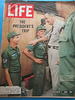 LIFE November 4 1966 Lydon Johnson In Vietnam, When Marilyn Was Norma Jean