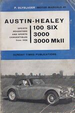 AUSTIN HEALEY 100/6 & 3000 MKI & MKII ( 1956 - 1963 ) OWNERS REPAIR MANUAL