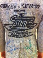 Keith Richards Mick Jagger Autographed The Rolling Stones Tour Jacket Tux Coat