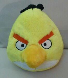"ANGRY BIRD  ""CHUCK"" YELLOW PLUSH TOY DOLL - ROVIO ENT"