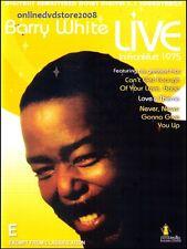 BARRY WHITE - LIVE FRANKFURT 1975 MUSIC DVD (5.1 Soundtrack) Love Songs Legend