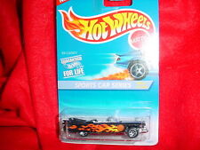 HOT WHEELS #407 '59 CADDY WITH 7 SPOKE RIMS SPORTS CAR SERIES FREE USA SHIPPING