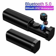 Bluetooth Earphones Dual Mic Sports Waterproof 3D Stereo TWS  Wireless Earbuds