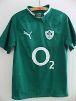 2011 13 Six Nations Ireland PUMA IRFU Mens Rugby Union Retro Jersey Shirt Adults