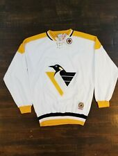 Vintage 90s RARE New With Tags CCM Pittsburgh Penguins Jersey Sweatshirt Size XL
