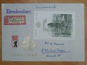 DDR -  Ersttagsbrief/FDC Mi-Nr. Block 84, 750 Jahre Berlin, M€ 10,00
