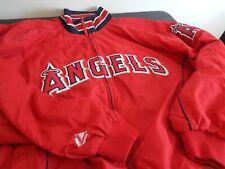 ANAHEIM Los Angeles ANGELS Baseball MAJESTIC Dugout XXL 2XL Jacket FREE SHIPPING