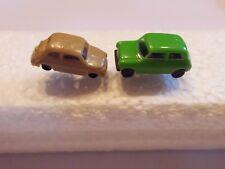 Ohrring mit kleinem braun grünes  Auto graue Felgen für alle Auto Fans 4721