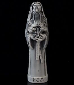Slavic God Rod Marble Figurine Stone Statue Forefather of Gods World Creator