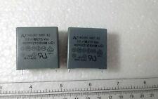 2 PCS  Capacitor   AV BRAND  22 uf M 275Vac  MKT X2