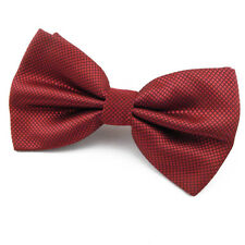 Noeud Papillon Rouge Cardinal en soie mélangée Homme / Femme - Silk red Bow tie