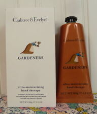 NEW IN BOX - CRABTREE & EVELYN - GARDENERS - HAND THERAPY CREAM 3.5 OZ