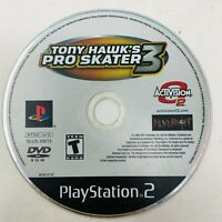 Tony Hawk's Pro Skater 3 (Sony PlayStation 2 PS2 Skateboarding Game Disc Only