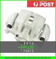 Fits HARRIER ACU35/MCU35/GSU35/GSU36 4WD - FRONT LEFT BRAKE CALIPER ASSEMBLY