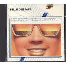 BELLE D'ESTATE - GIUNI RUSSO BAGLIONI MATIA BAZAR GRAZIANI RIGHEIRA CD 1990 MINT