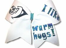 I Like Warm Hugs!  Olaf Hair Bow