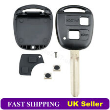 For Toyota Yaris Corolla Celica RAV4 2 Button TOY43 Remote Key Fob Case Shell