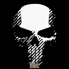 Ghost Punisher Skull Sticker VINYL Recon Military Soldier Marine Armed