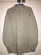 District Men's Shirt Stone Size M<NH99