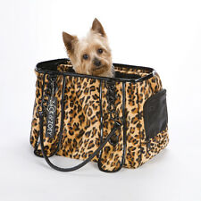 Dog/Cat/Pet/Carrier/Purse/Tote/Bag - Z & Z - Leopard Print Carrier - Tcup - NEW