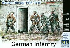 Masterbox 1:35 German Infantry Western Europe 44-45 WWII Era Figures Model Kit