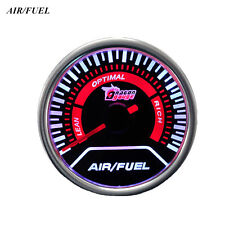 Manometre de Richesse Air Fuel Ratio AFR 52mm SMOKE DRAGON Neuf Tuning Racing